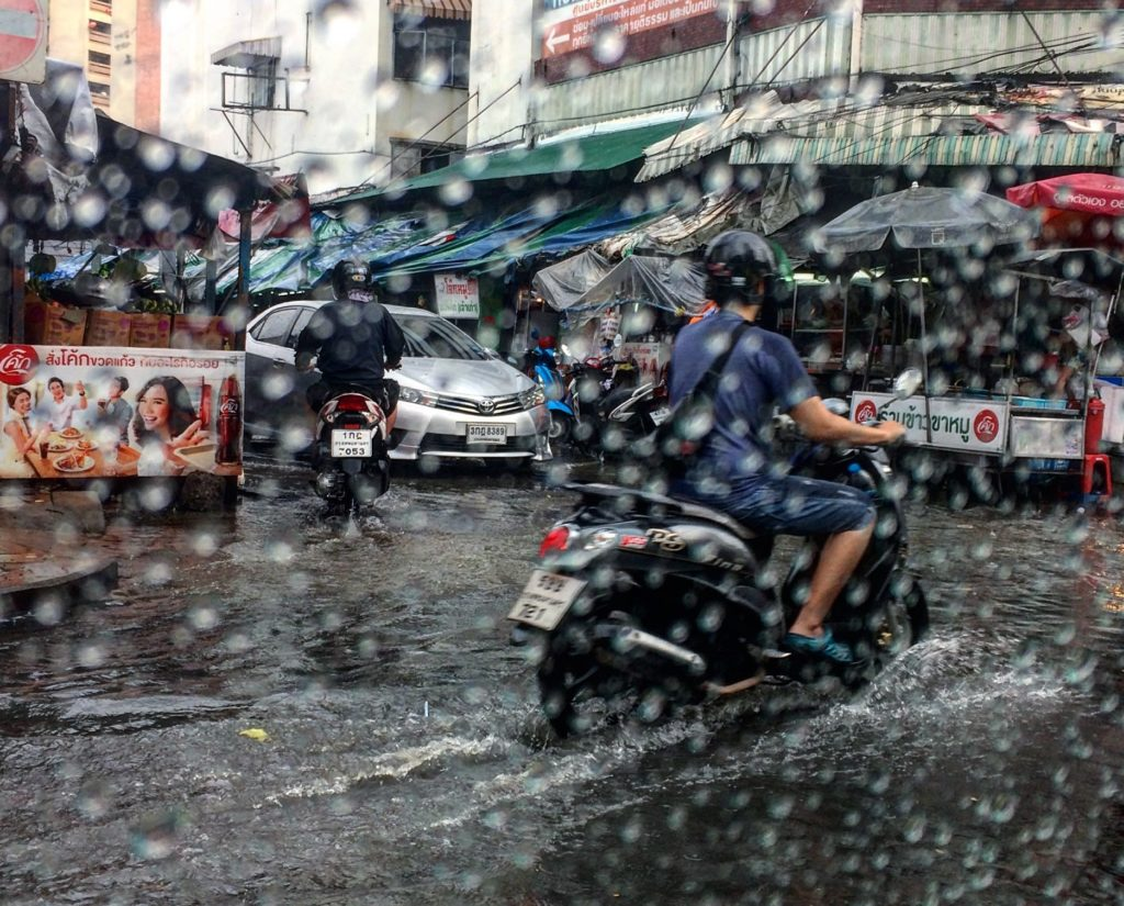 monsoon showers in bangkok